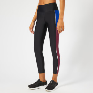 P.E Nation Women's Without Limits Leggings - Black/Maroon