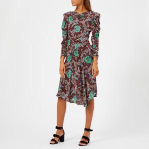 Isabel Marant Women's Carley Dress - Burgundy