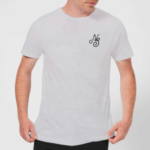 T-Shirt Homme Essential Script Native Shore - Gris