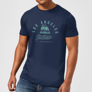 T-Shirt Homme Los Angeles Surfwear Native Shore - Bleu Marine