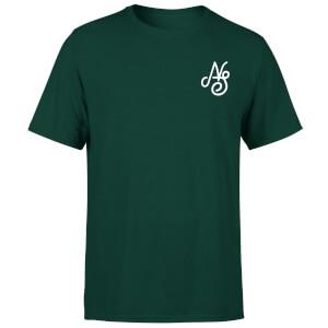 T-Shirt Homme Essential Script Native Shore - Vert Foncé