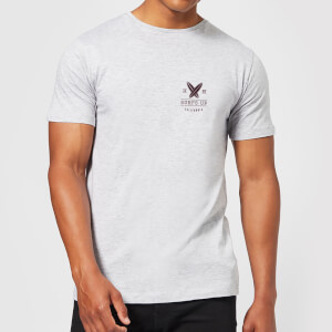 T-Shirt Homme Surfs Up Native Shore - Gris