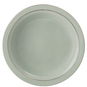 Bloomingville Spring Stoneware Soup Bowl - Green