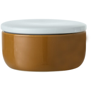 Bloomingville Stoneware Jar With Lid - Brown