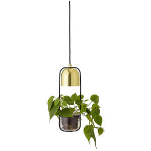 Bloomingville Metal Pendant Lamp - Gold
