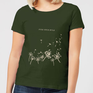 Find Your Wild Women's T-Shirt - Forest Green