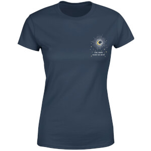 The Moon Made Me Do It Women's T-Shirt - Navy