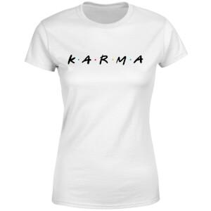 Karma Women's T-Shirt - White