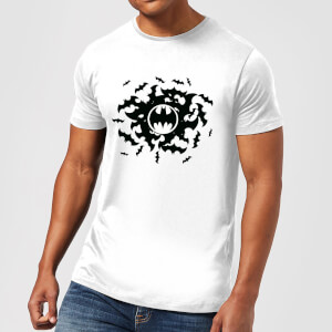 Batman Bat Swirl T-Shirt - Weiß