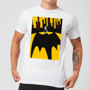 T-Shirt Homme Batman DC Comics - Bat Shadow - Blanc
