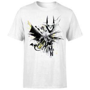 DC Comics Batman Batface Splash T-Shirt - White