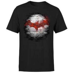 DC Comics Batman Logo Wall T-Shirt - Black