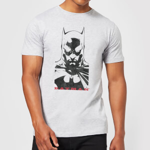 Batman Solid Stare T-Shirt - Grau