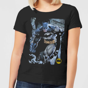 Camiseta DC Comics Batman Leyenda Urbana - Mujer - Negro