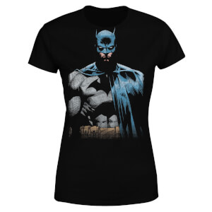 DC Comics Batman Close Up Women's T-Shirt - Black