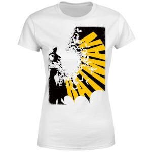 DC Comics Batman Bat Spread Women's T-Shirt - White