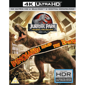 Jurassic Park Trilogy - Ultra Hd 4K (UV Version)