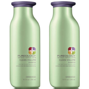 Dúo champú Clean Volume Colour Care de Pureology (250 ml)