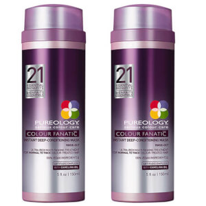 Dúo mascarilla acondicionadora Colour Fanatic Instant Deep de Pureology (150 ml)