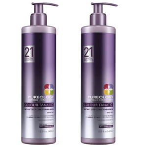Dúo mascarilla Colour Fanatic de Pureology (400 ml)