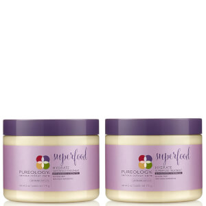 Pureology Hydrate Colour Care Superfood Mask Duo 170 g