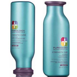 Pureology Strength Cure Colour Care duo di shampoo e balsamo rinforzante per capelli colorati 250 ml