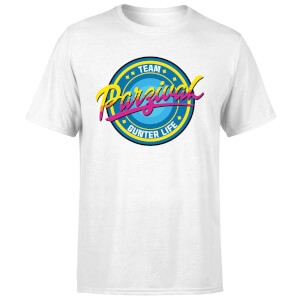 Camiseta Ready Player One Team Parzival - Hombre - Blanco
