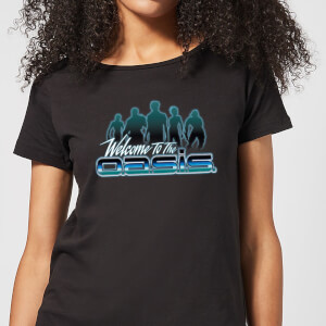 Camiseta Ready Player One Welcome To The Oasis - Mujer - Negro
