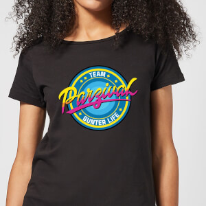 Camiseta Ready Player One Team Parzival - Mujer - Negro