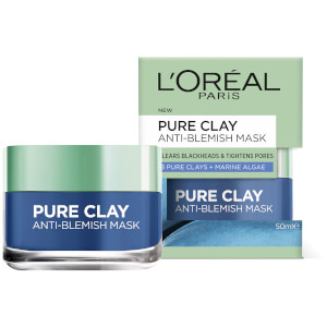L'Oréal Paris Pure Clay Anti-Blemish Mask 50ml
