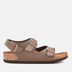 Birkenstock Kids' Roma Double Strap Sandals - Mocha