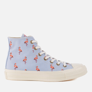 Converse Chuck Taylor All Star '70 Hi-Top Trainers - Blue Chilli/Pale Coral//Egret