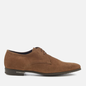 Paul Smith Men's Coney Suede Derby Shoes - Tan