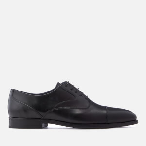 PS Paul Smith Men's Tompkins Leather Toe Cap Oxford Shoes - Black