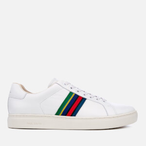 PS by Paul Smith Men's Lapin Leather Cupsole Trainers - White