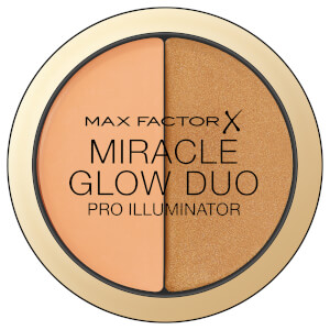 Max Factor Miracle Glow Duo Highlighter -korostuspuuteri, 30 Deep