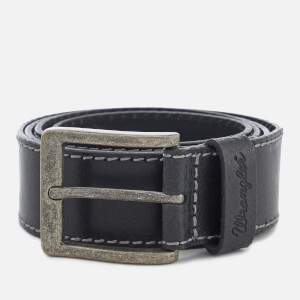 Wrangler Men's Stitched Belt - Black