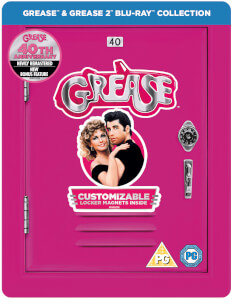 Grease 40.º Aniversario (Grease + Grease 2) - Steelbook Edición Limitada Exclusiva de Zavvi