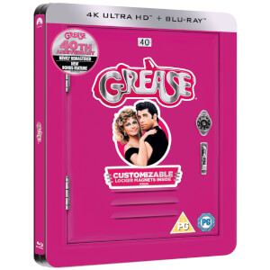 Grease 40th Anniversary - 4K Ultra HD - Zavvi UK Exclusive Limited Edition Steelbook