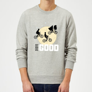 ET Be Good Moon Sweatshirt - Grey