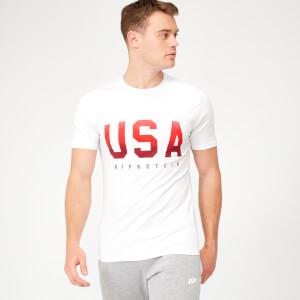 USA Geometric T-Shirt
