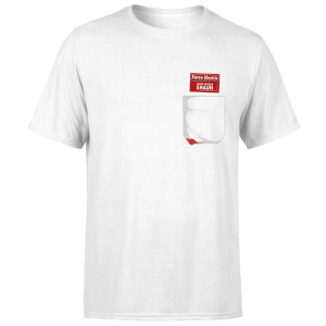 Shaun Of The Dead You've Got Red On You Pocket T-Shirt - White