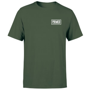 Primed Chest Logo T-Shirt - Forest Green