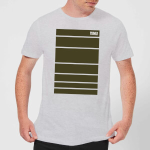 Primed Block T-Shirt - Grey