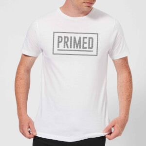 Primed Box Logo T-Shirt - White