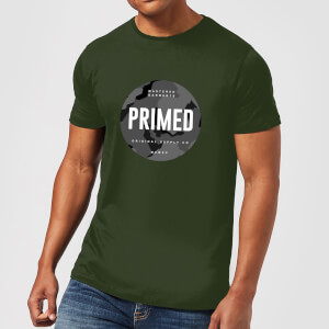 Primed Stamp T-Shirt - Forest Green