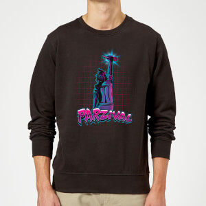 Sweat Homme Ready Player One - Clé de Parzival - Noir