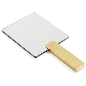 HAY Square Brass Mirror