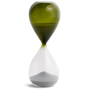 HAY Time Hourglass - 15 Minutes - Grass Green