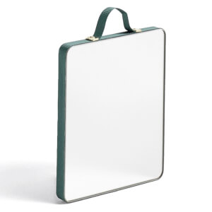 HAY Ruban Rectangular Mirror - Small - Green